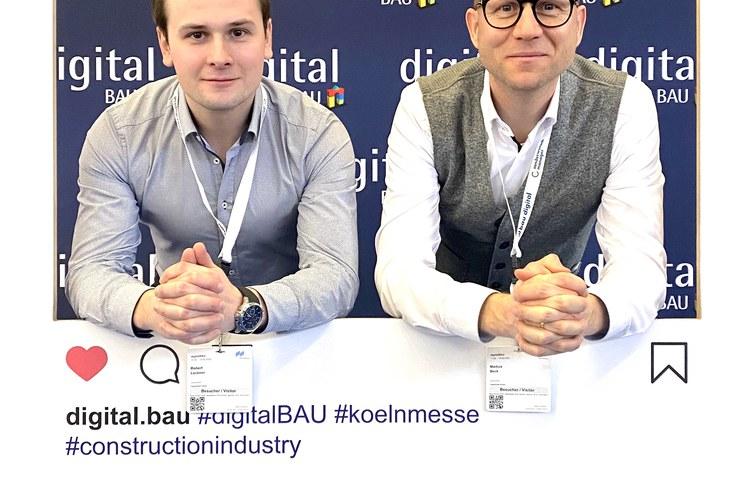 Besuch auf der digitalBAU, Köln